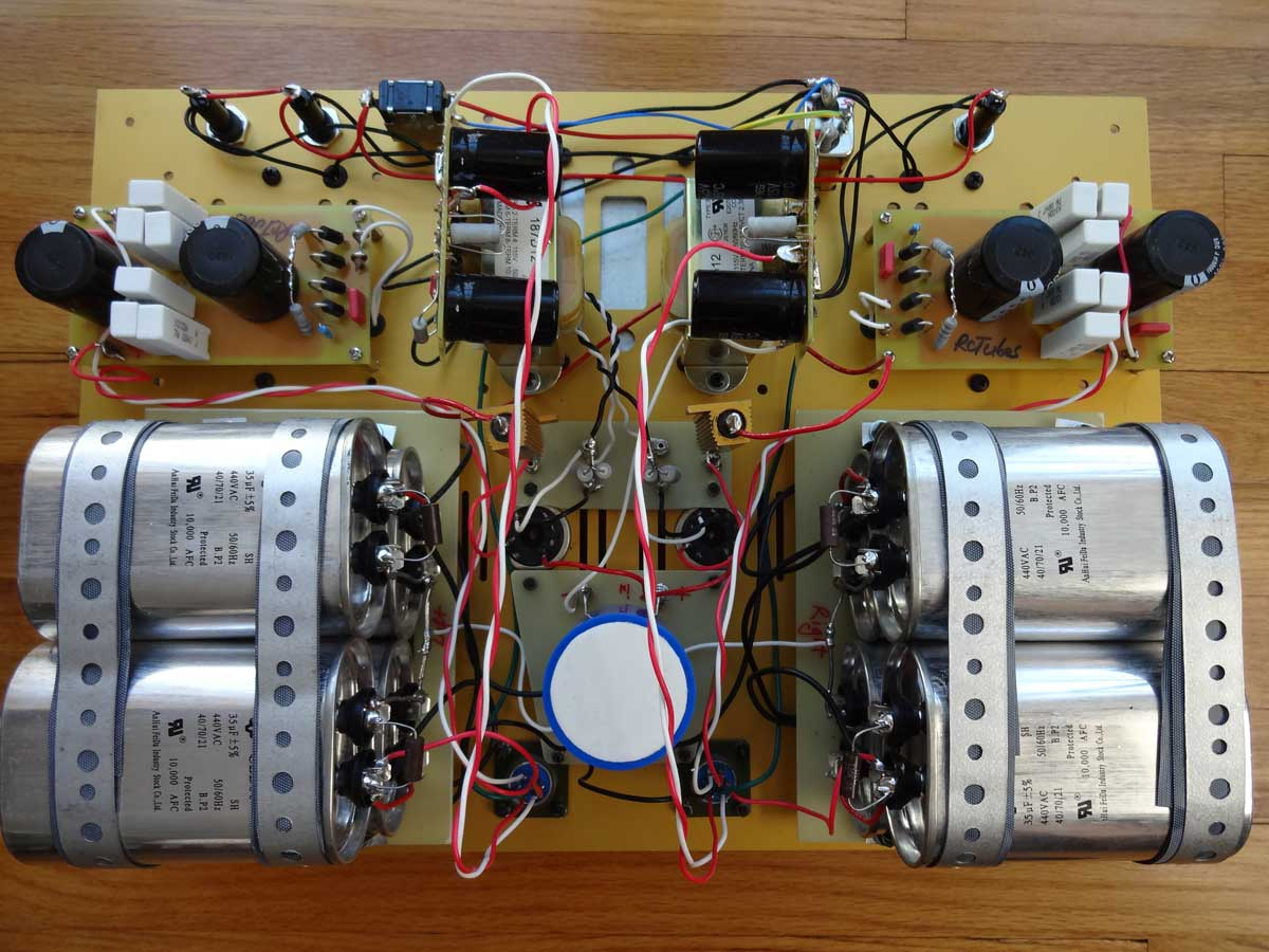 Shiny Eyes Pse Special Edition Simplepleasuretubeamps Wiring Capacitor To Amplifier Psu Top Inside Front Main Complete Connected Bottom