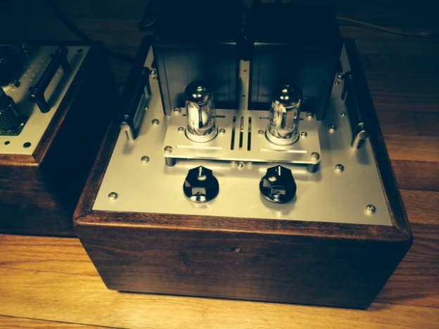 Preamp front