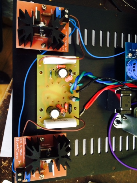6H30 preamp and mini F4 integrated | simplepleasuretubeamps