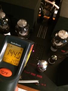 300B bias resistors Temp