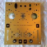plate with sockets and jacks