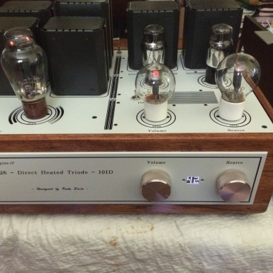 Another DHT switchable preamp | simplepleasuretubeamps
